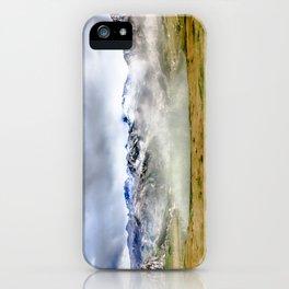 Lago Ercina in National park Picos de Europa iPhone Case