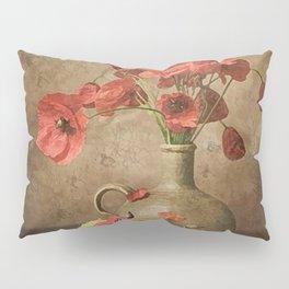 Sweet Paprika Poppies Pillow Sham