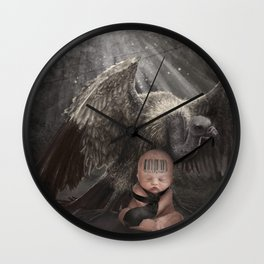 Vultures Wall Clock