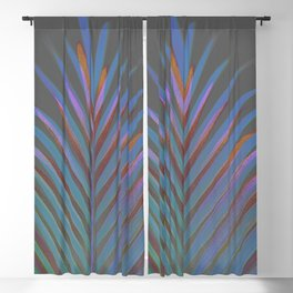 Chic palm / Tropical touch Blackout Curtain