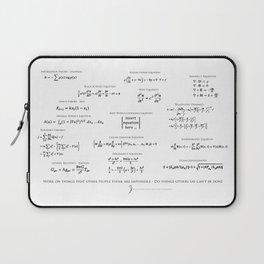 High-Math Inspiration 01 - Black Laptop Sleeve
