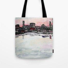 Ocean View Sunset Tote Bag