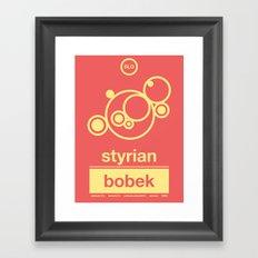 styrian bobek single hop Framed Art Print