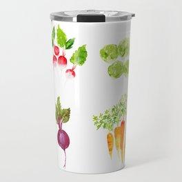 Garden Party - Mixed Veggies Travel Mug