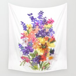 Sunny Bouquet Wall Tapestry