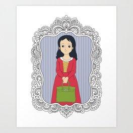 Make a wish/ Birkin Art Print