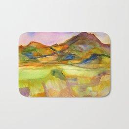Mountain Range Bath Mat