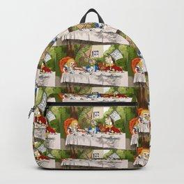"John Tenniel, "" Alice's Adventures in Wonderland "",color ver.1 Backpack"