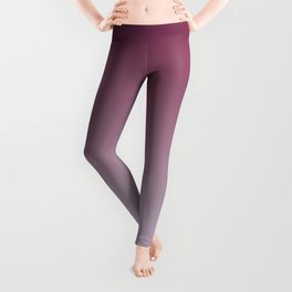 HOLD YOUR BREATHE - Minimal Plain Soft Mood Color Blend Prints Leggings