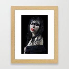 Rojo Framed Art Print