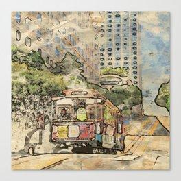 Art Studio San Francisco 216 Canvas Print