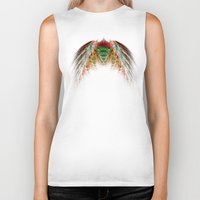 angel wings Biker Tanks featuring Wings  by jbjart