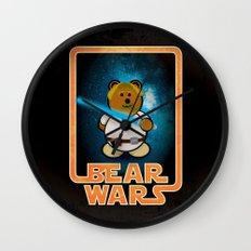 Bear Wars - Duke Cubpoker Wall Clock
