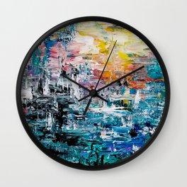 Natural Vibrations Wall Clock