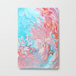 Abberation #abstract #digitalart Metal Print