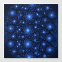 starry night Canvas Prints featuring Starry Starry Night by Lyle Hatch