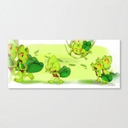 Treecko family  Canvas Print