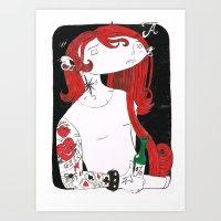 GIN CARD Art Print