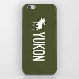 Yukon Moose iPhone Skin