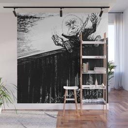 Frail - Inktober 2019 # 8 Wall Mural