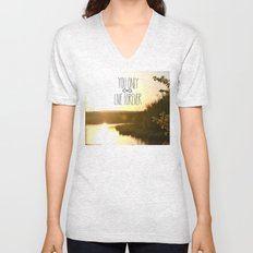 You Only Live Forever Unisex V-Neck