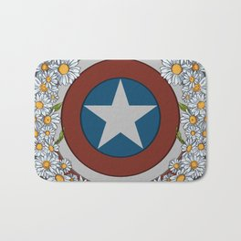 Cap's Shield Bath Mat