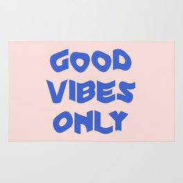 good vibes only XII Rug
