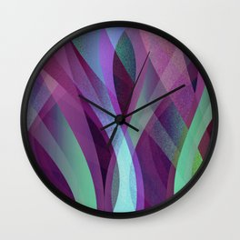 Abstract background G134 Wall Clock