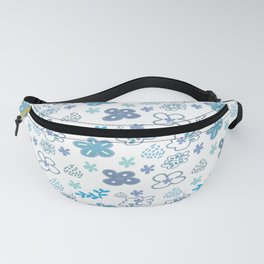 Floral hand painted style Fanny Pack