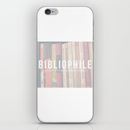 Bookaholic. iPhone Skin