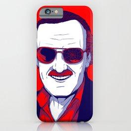Stan Lee / Excelsior iPhone Case