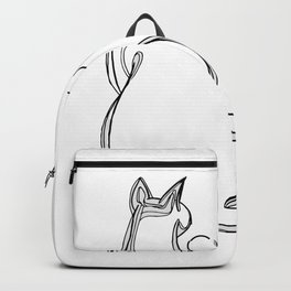 Cat person 1 Backpack