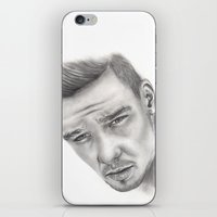 liam payne iPhone & iPod Skins featuring Liam by Londonhazz