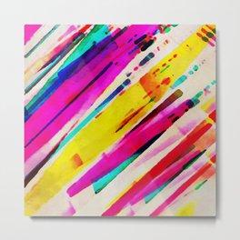45 Degrees of Color Metal Print