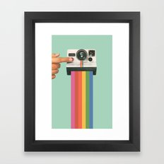 Take a Picture. It Lasts Longer. Framed Art Print