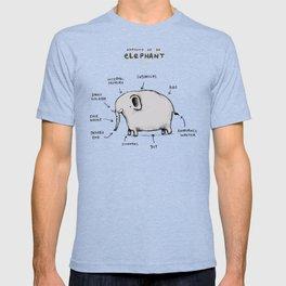 Anatomy of an Elephant T-shirt