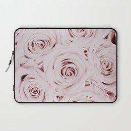 Flowers, Roses, Neutral, Minimal, Modern, Wall art Laptop Sleeve