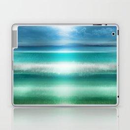 """Blue sky over teal sea South"" Laptop & iPad Skin"