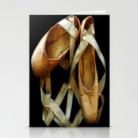 ballet Stationery Cards featuring Ballet by Müge Başak