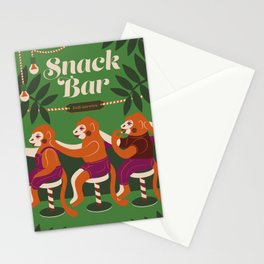 Snack Bar Stationery Cards