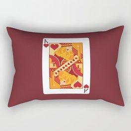 King of Hearts Rectangular Pillow