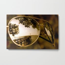 Not all of Us see the Same thing. Metal Print