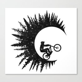 Ink Rider Canvas Print