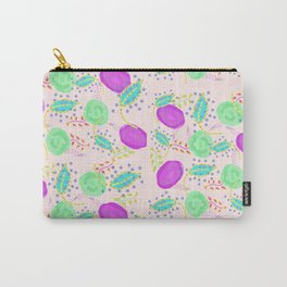 Almost Abstract Bloom Carry-All Pouch