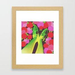 Flower Step Framed Art Print