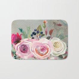 Flowers bouquet #42 Bath Mat