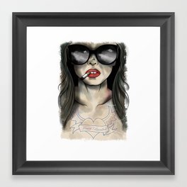 Heart Breaker Framed Art Print