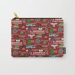 Christmas Vacation Collage Carry-All Pouch