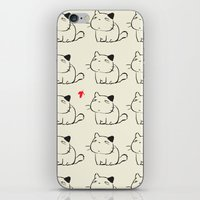 cats iPhone & iPod Skins featuring cats by ururuty