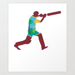 West Indies Cricketer, West Indies Cricket Gift Art Print